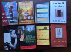 Books that have influenced my writing.